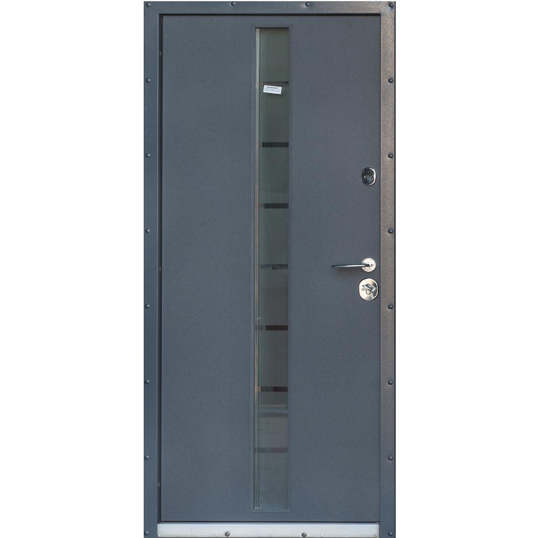 Купити вхідні двері Грей-Глас (серія «Котедж»)